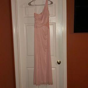 Bridesmaid dress from David's bridal.